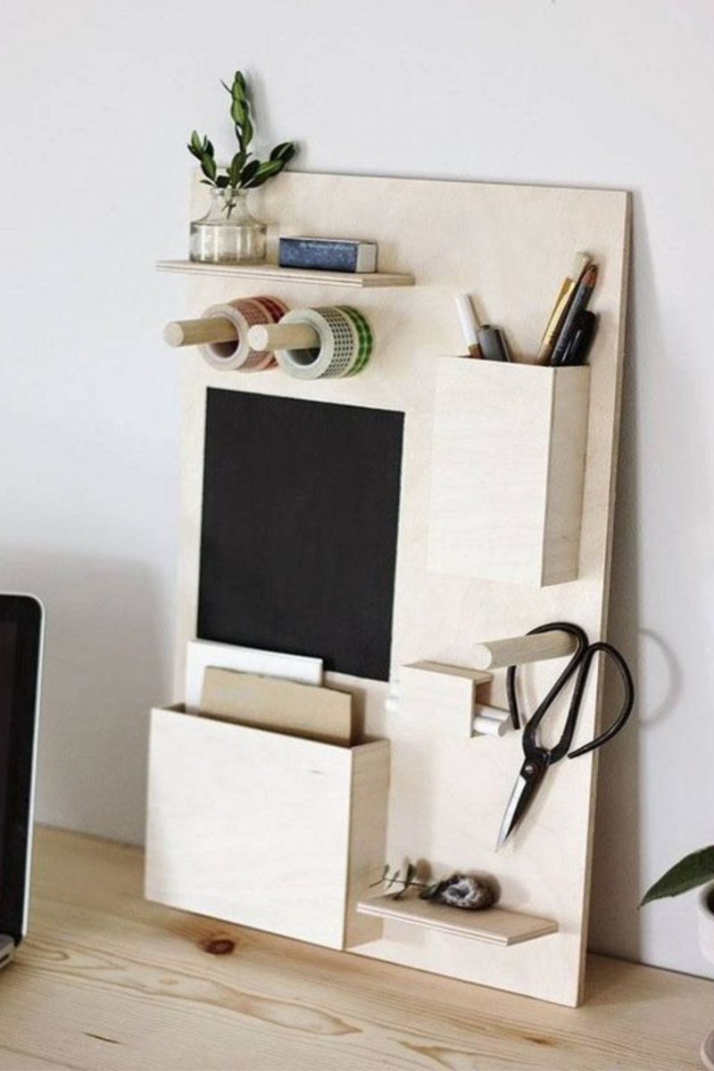 Caitlin McGrath, 2015, DIY Desk Organizer